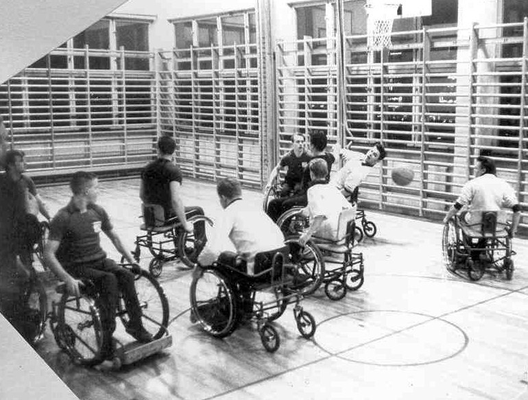 Basketträning 1962.