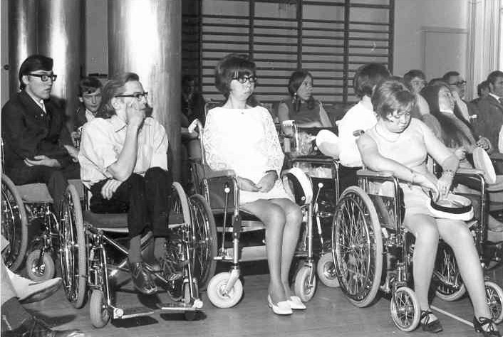 Fackskolans examen 1969.