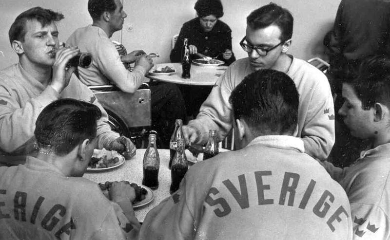 Basketturnering i Berlin 1962.