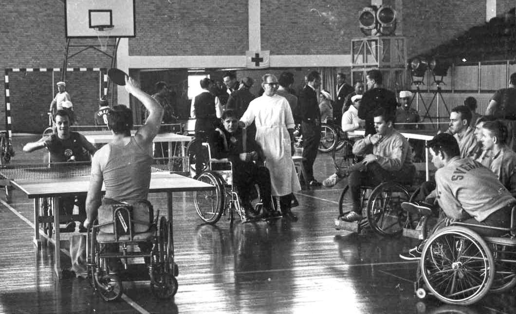 Pingismatch i Berlin 1962.