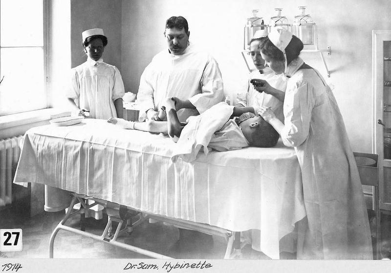 Dr. Sam Hybinette 1914.