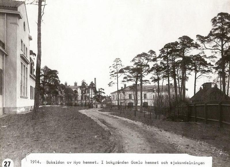 Nya Hemmet, baksidan 1914.