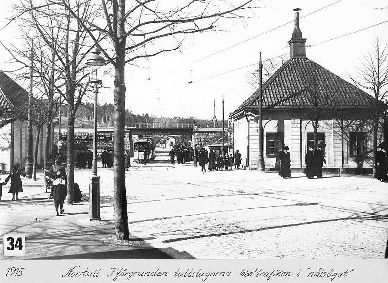 Norrtull 1915.