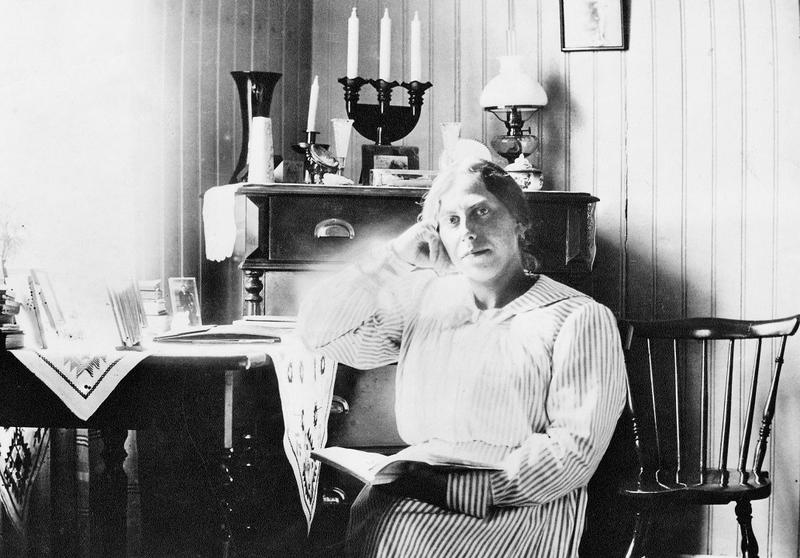 Augusta Pettersson 1918.