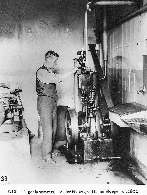 Elverket 1918.