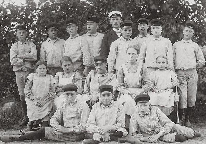 Konfirmander 1918.