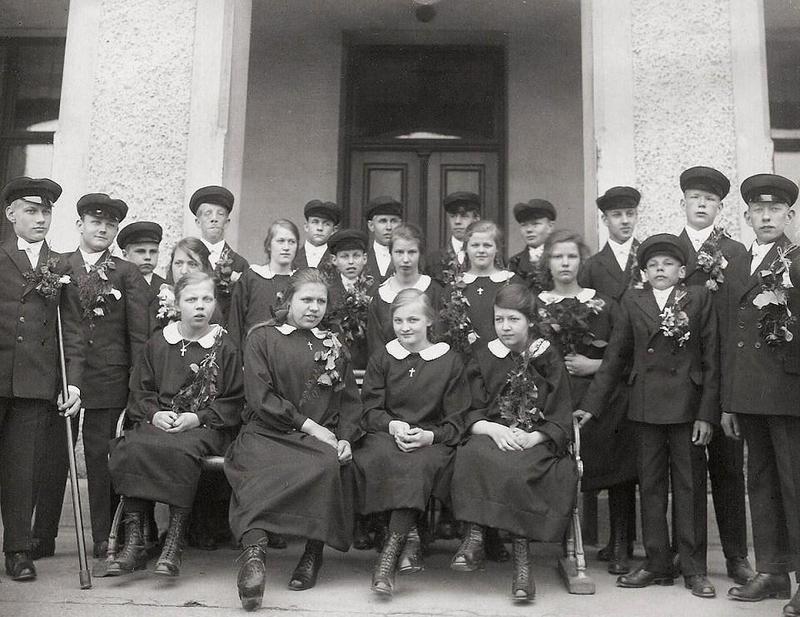 Konfirmander 1925.