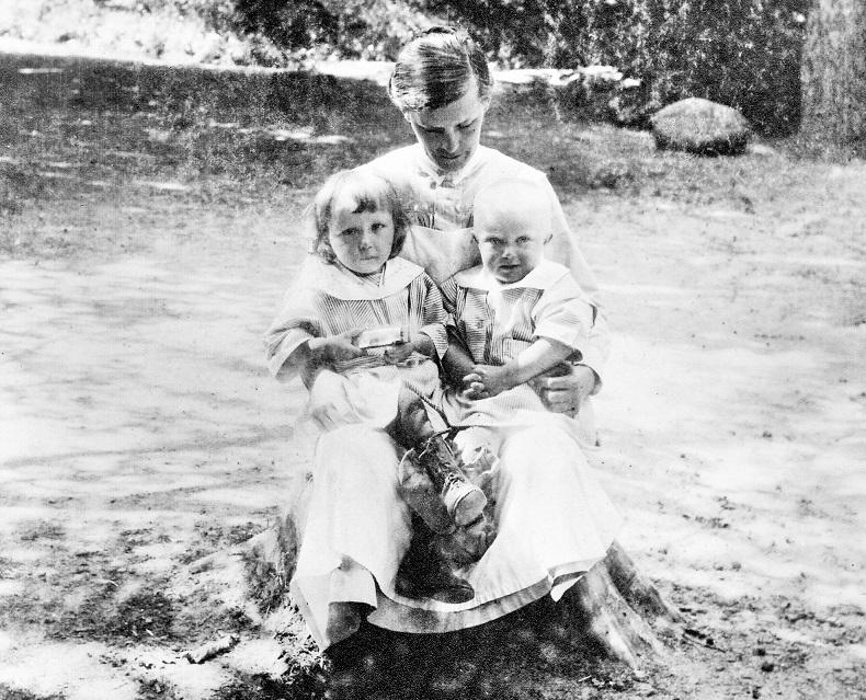 Syster Elin Johansson 1925.