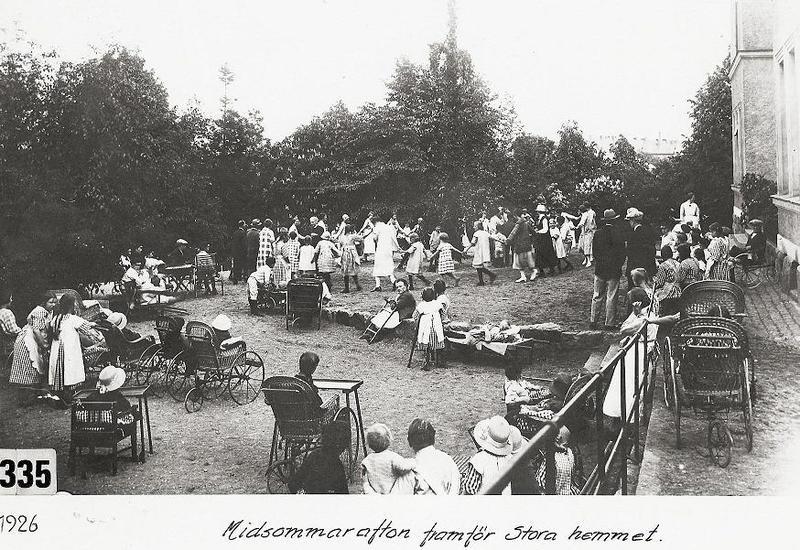 Midsommardans 1926.