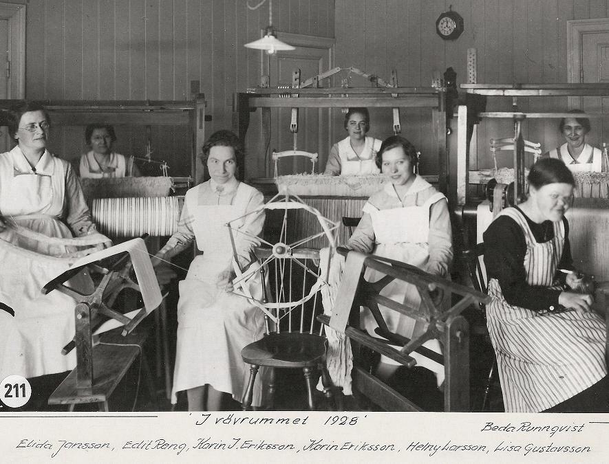 Vävrummet 1928.