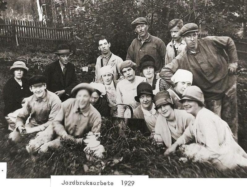 Jordbruksarbete 1929.