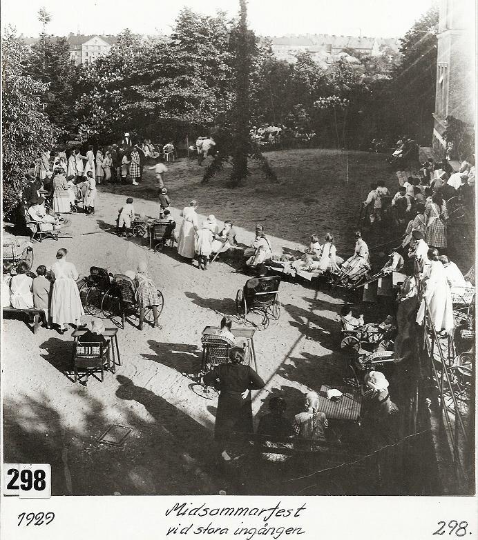 Midsommarfest 1929.
