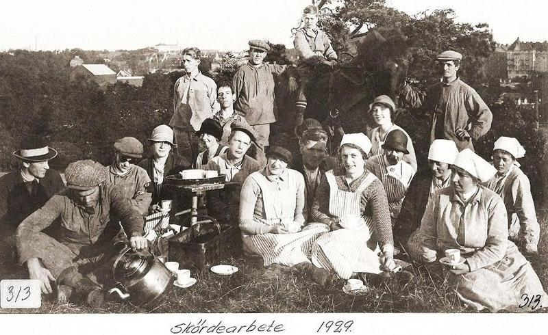 Skördearbete 1929.