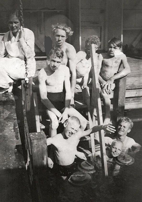Sommarkollo på Mölna 1934-38.