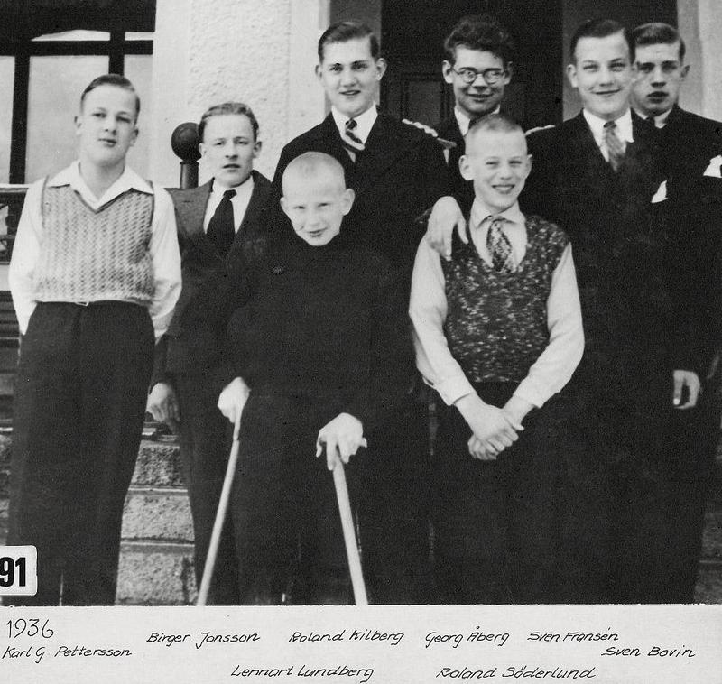 Gruppfoto 1936.