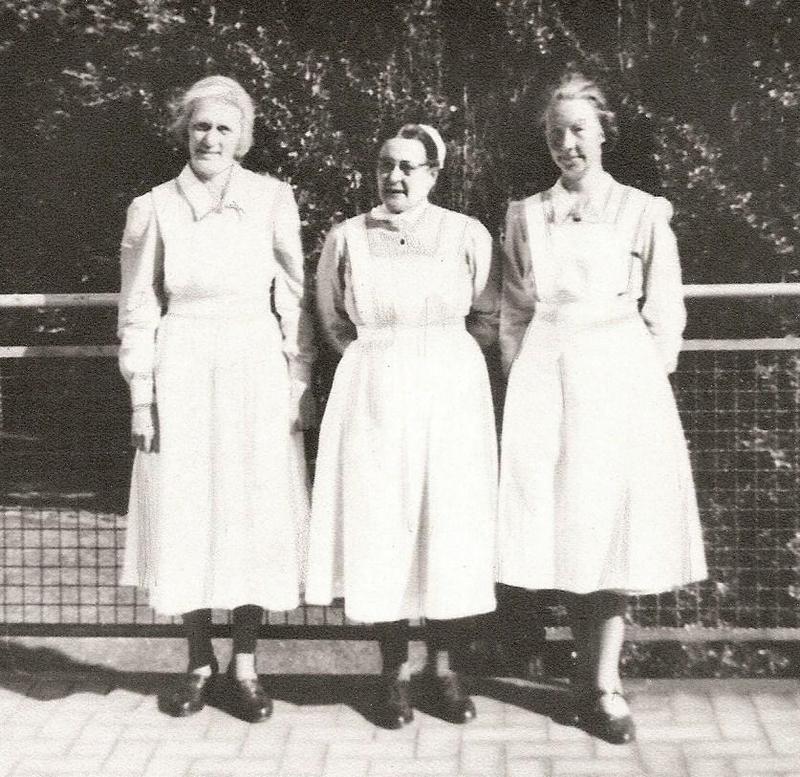 Agnes, Lilly och Ida 1937.