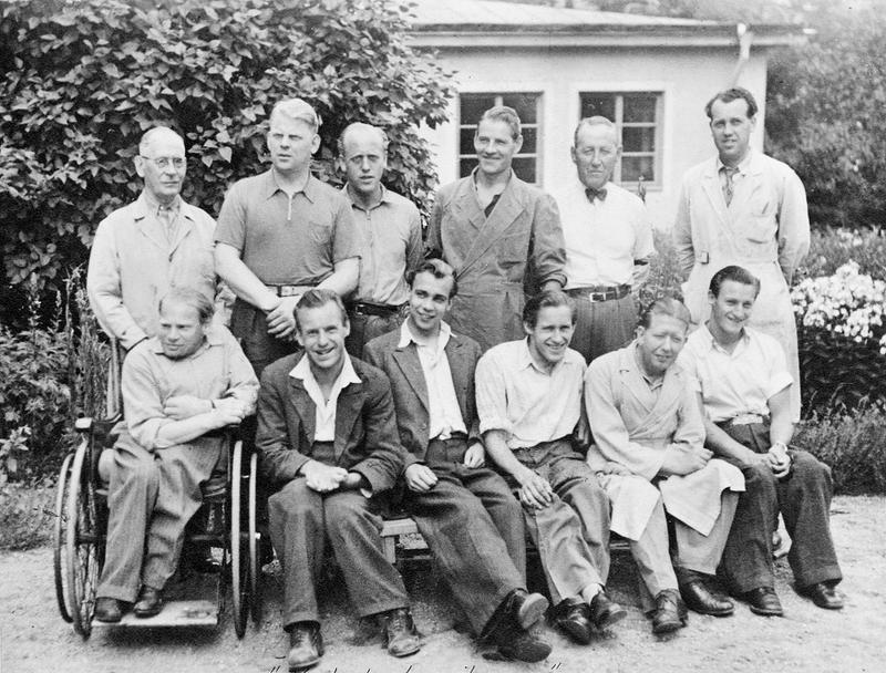 Verkstadspojkarna 1940.