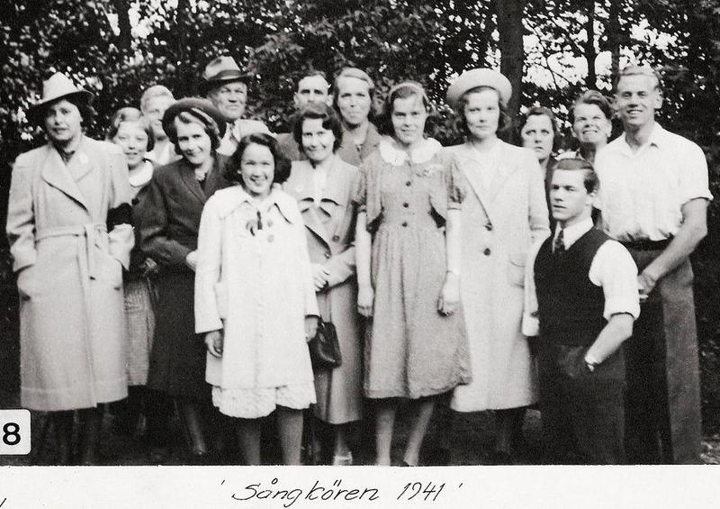 Sångkören 1941.