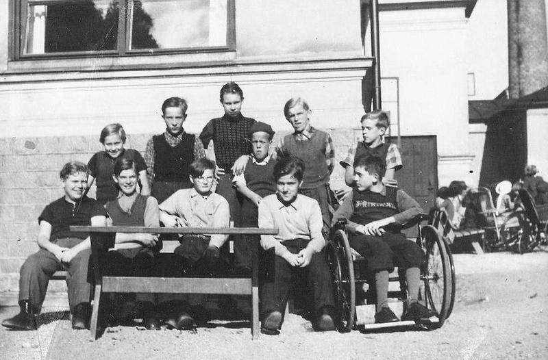 Gruppfoto 1946.
