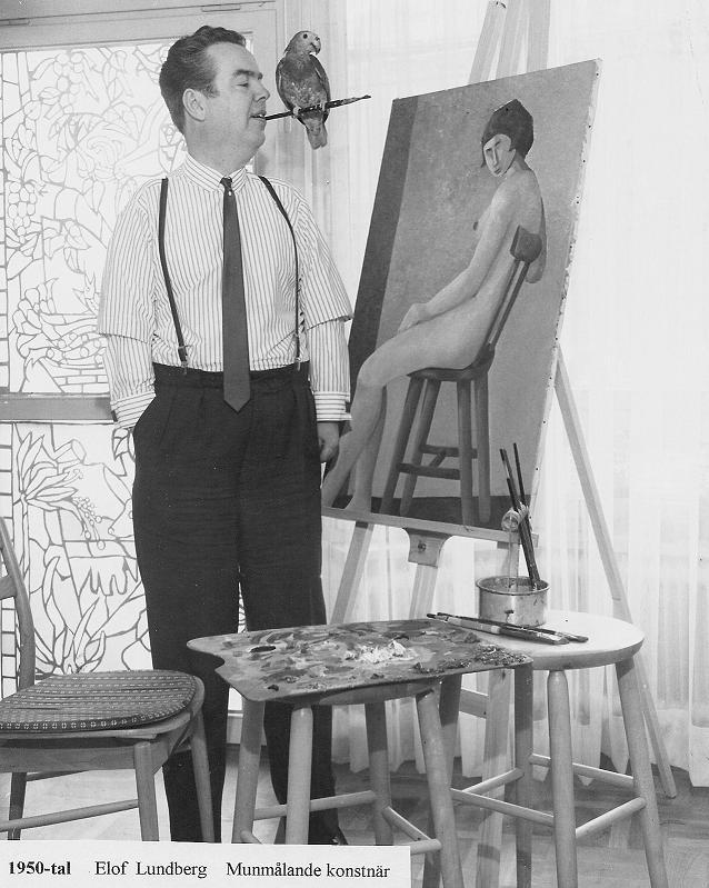 Elof Lundberg konstnär.