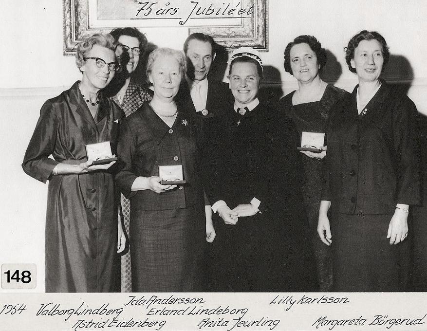 75-års Jubiléet 1954.