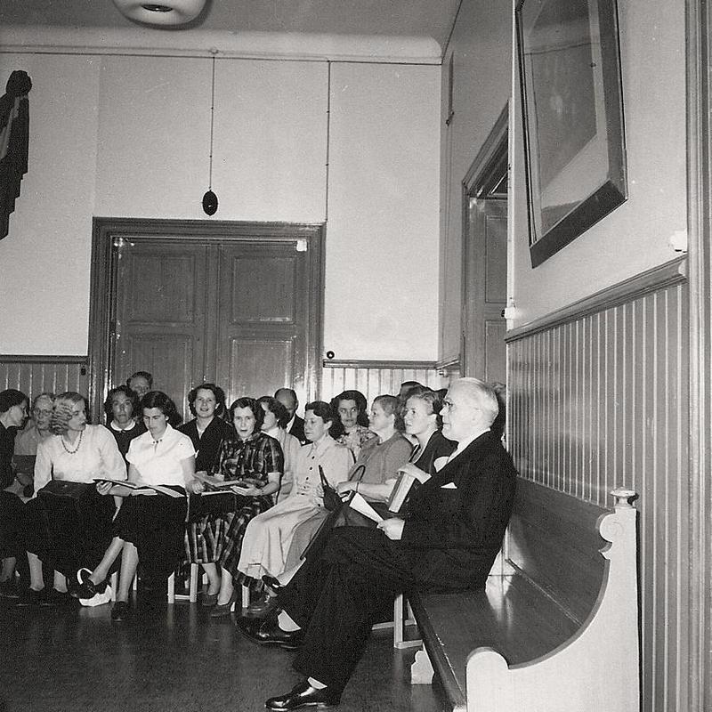 75-årsjubiléet 1954, sångkören.
