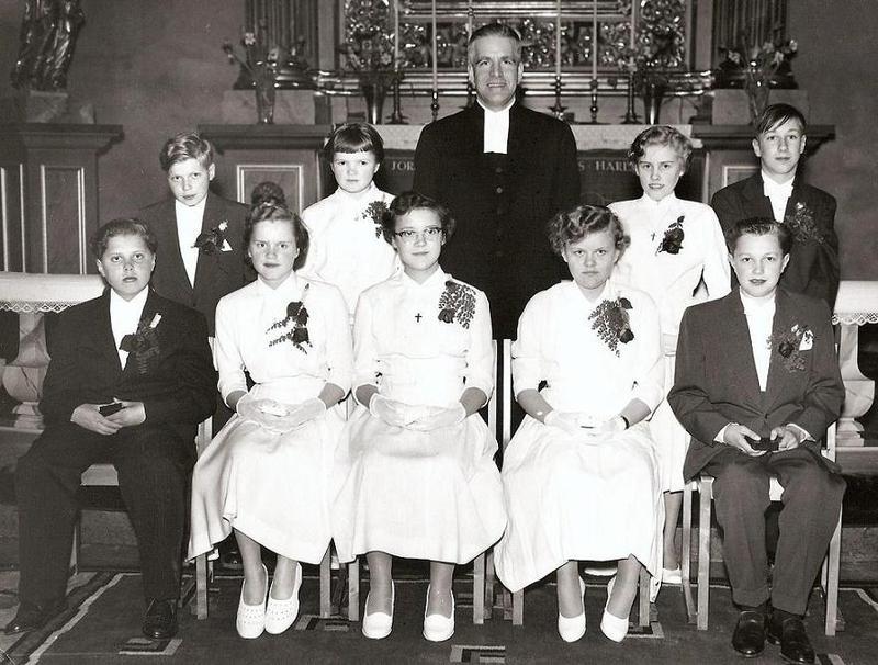 Konfirmation 1954.