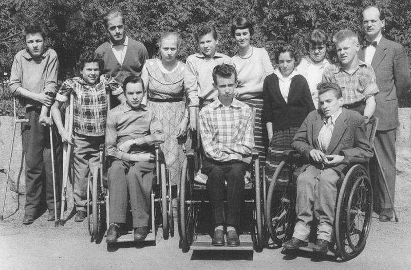 Klass 3:4 läsåret 1956-57.