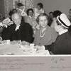 Lilly Offerholm går i pension 1956.