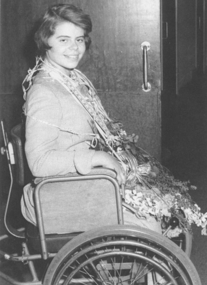 Anna-Lena Jerkeman examen 1957.