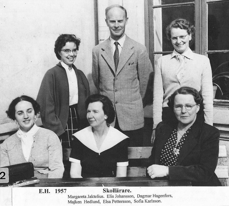Skollärare 1957.