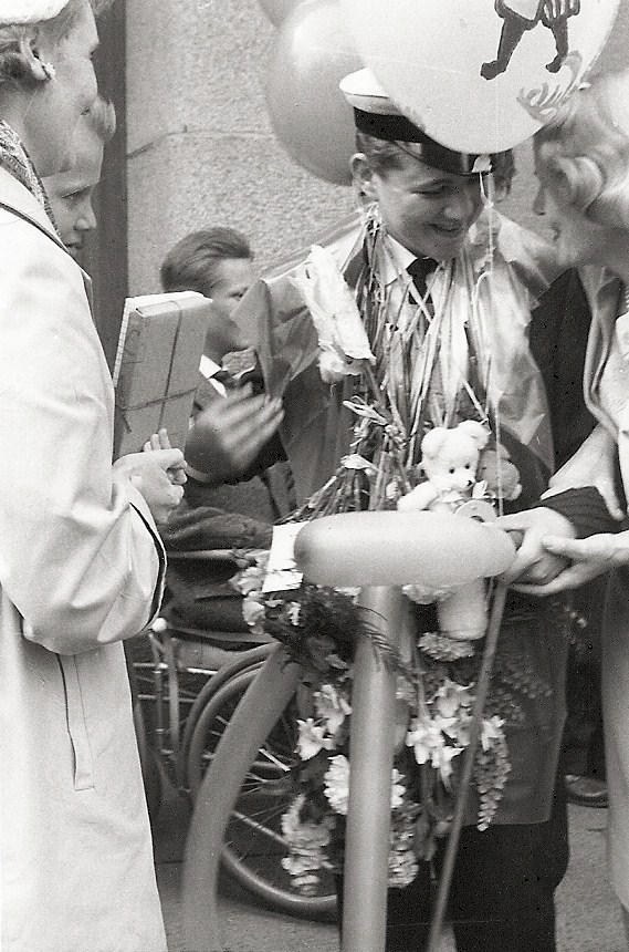 Roland Petersson examen 1959.