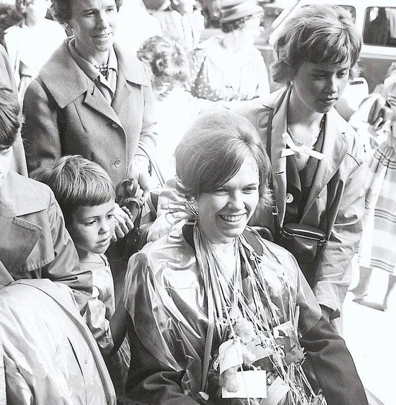 Ing-Britt N. examen 1960.
