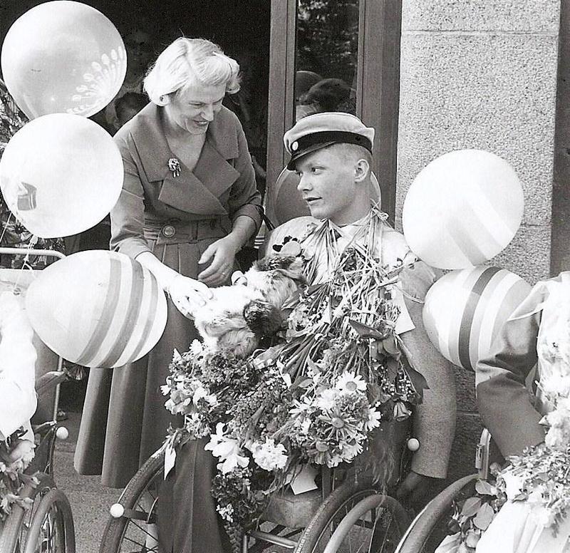 Melker Wallin examen 1960.
