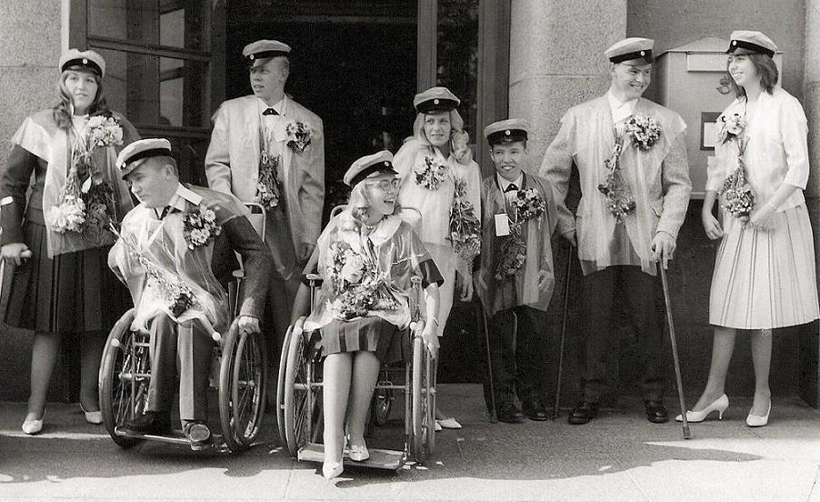 Realexamen 1961.