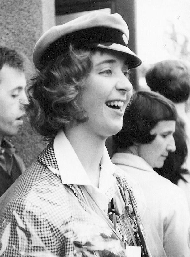 Birgitta Rignell examen 1963.