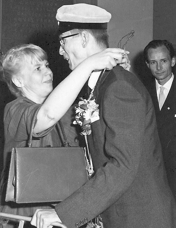 Lars-Erik Widell examen 1963.