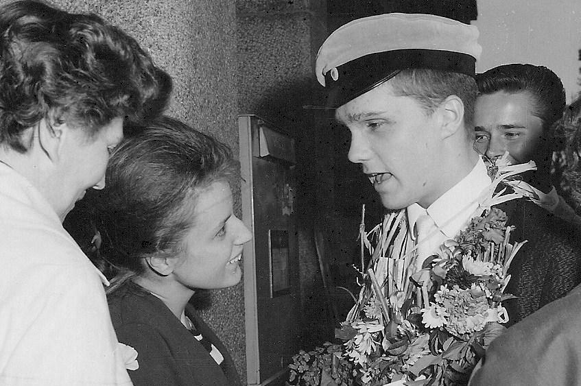 Rune Eriksson examen 1963.