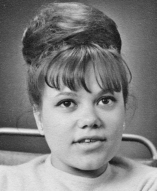 Lisbeth Holm examen 1964.