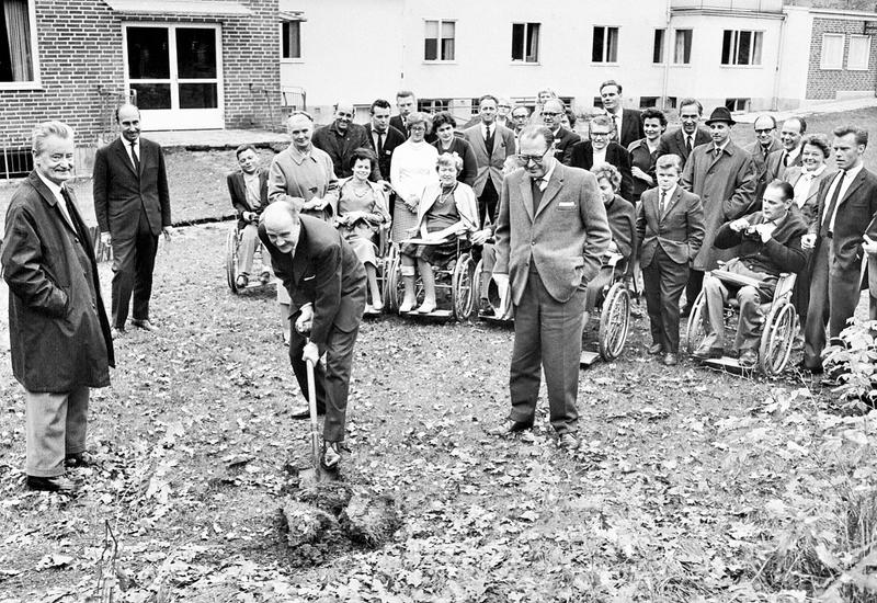 1964 Nybygge på gång.