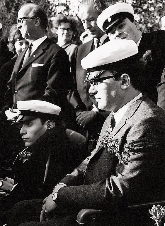 Bengt Christoffersson student 1967.