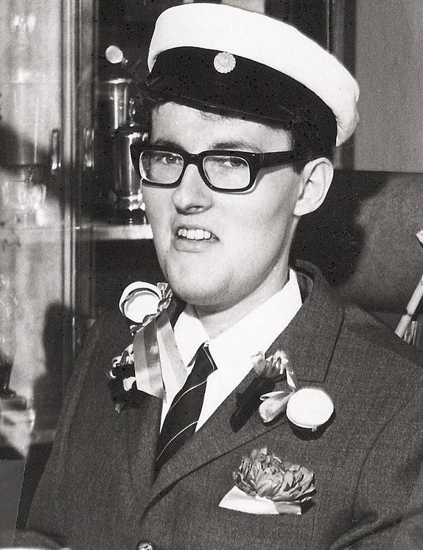 Harry Stenberg student 1967.