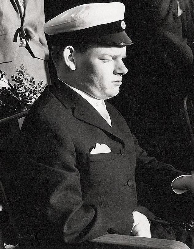 Kjell-Ove Lernö student 1967.