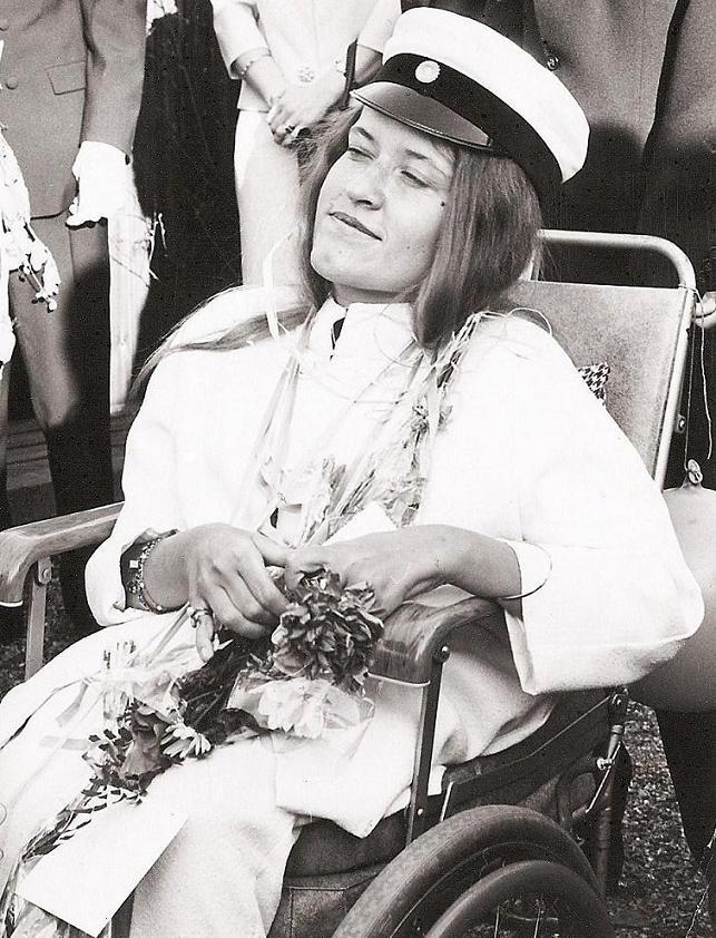 Ulla Ström student 1967.