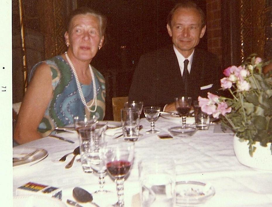 Brita Karlin och Gert Boström 1971.