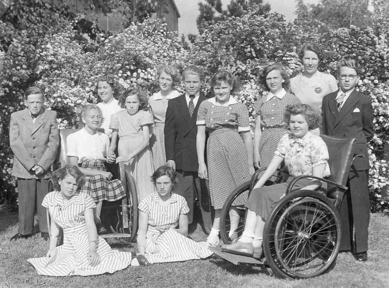 Klassfoto år 1951 eller 1952.