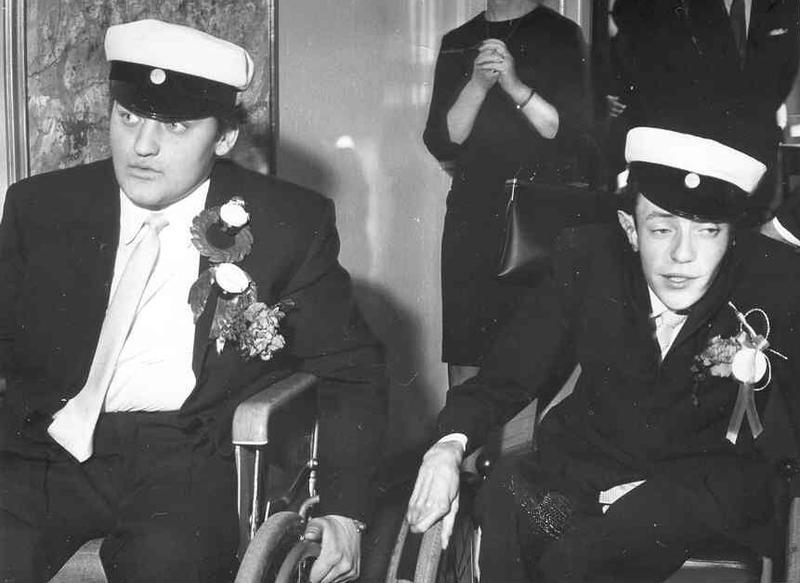 Nybakade studenter 1967.