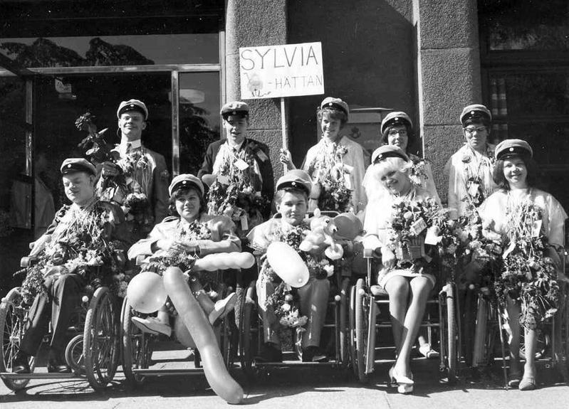 Realexamen 1964, den sista på Norrbacka.