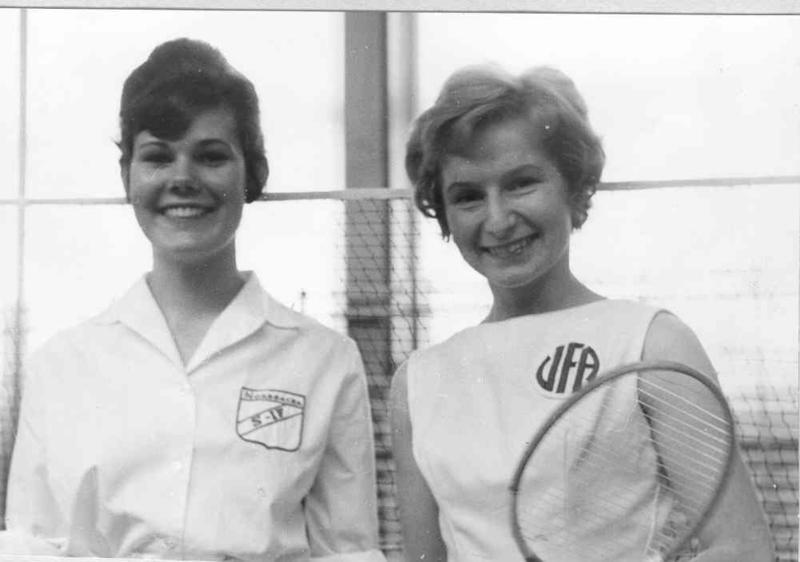 Badmintondamer.
