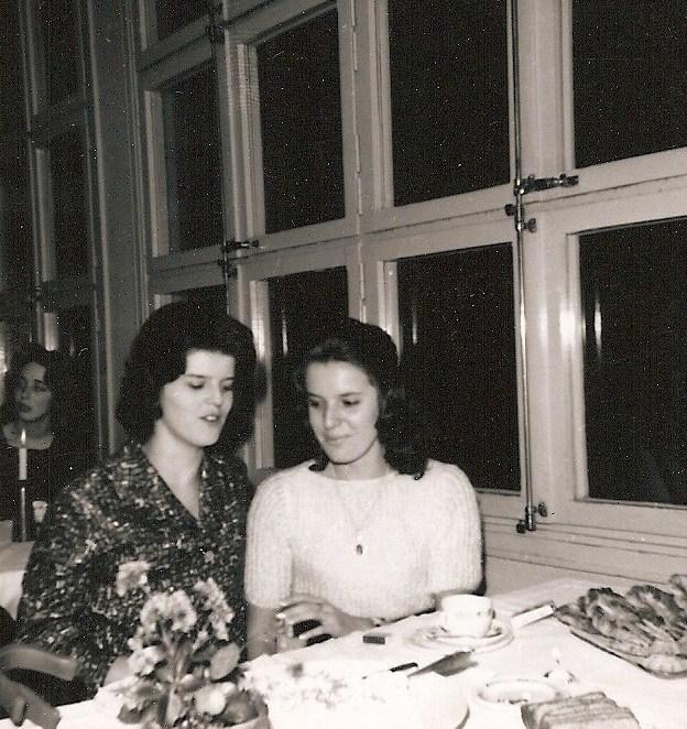 """Anita Norrby och Solveig """"Lillan"""" Larsson."""